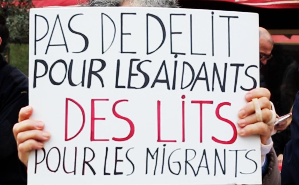 En France, la solidarité face à la justice