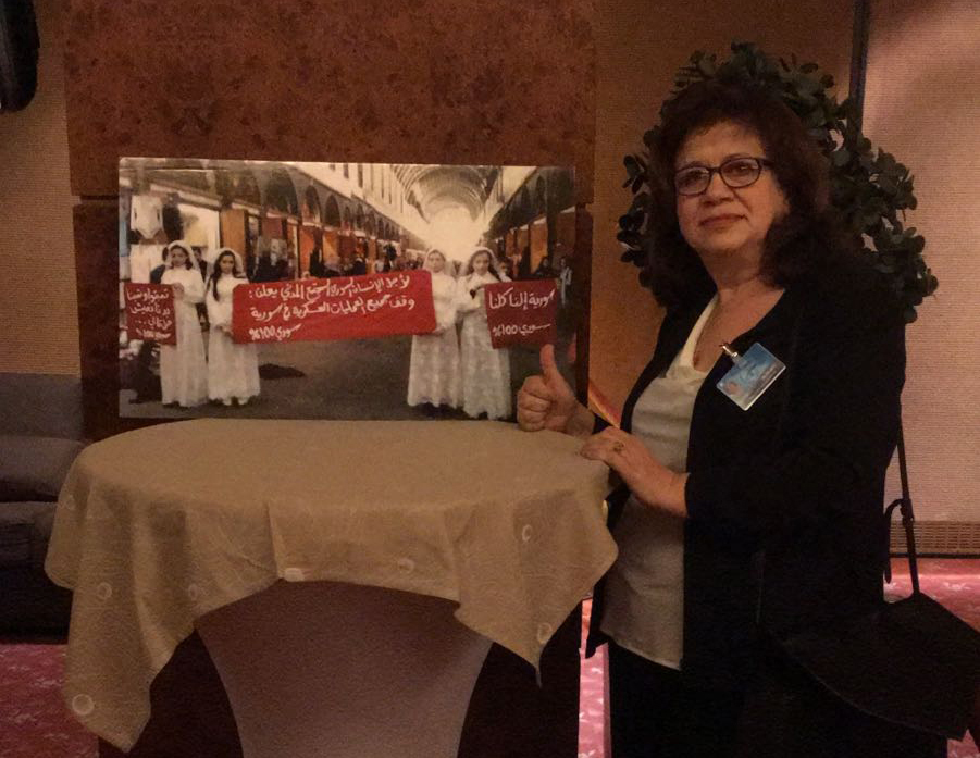 A Genève pour la Syrie « Les négociations incluant la société civile et les femmes sont les plus durables »