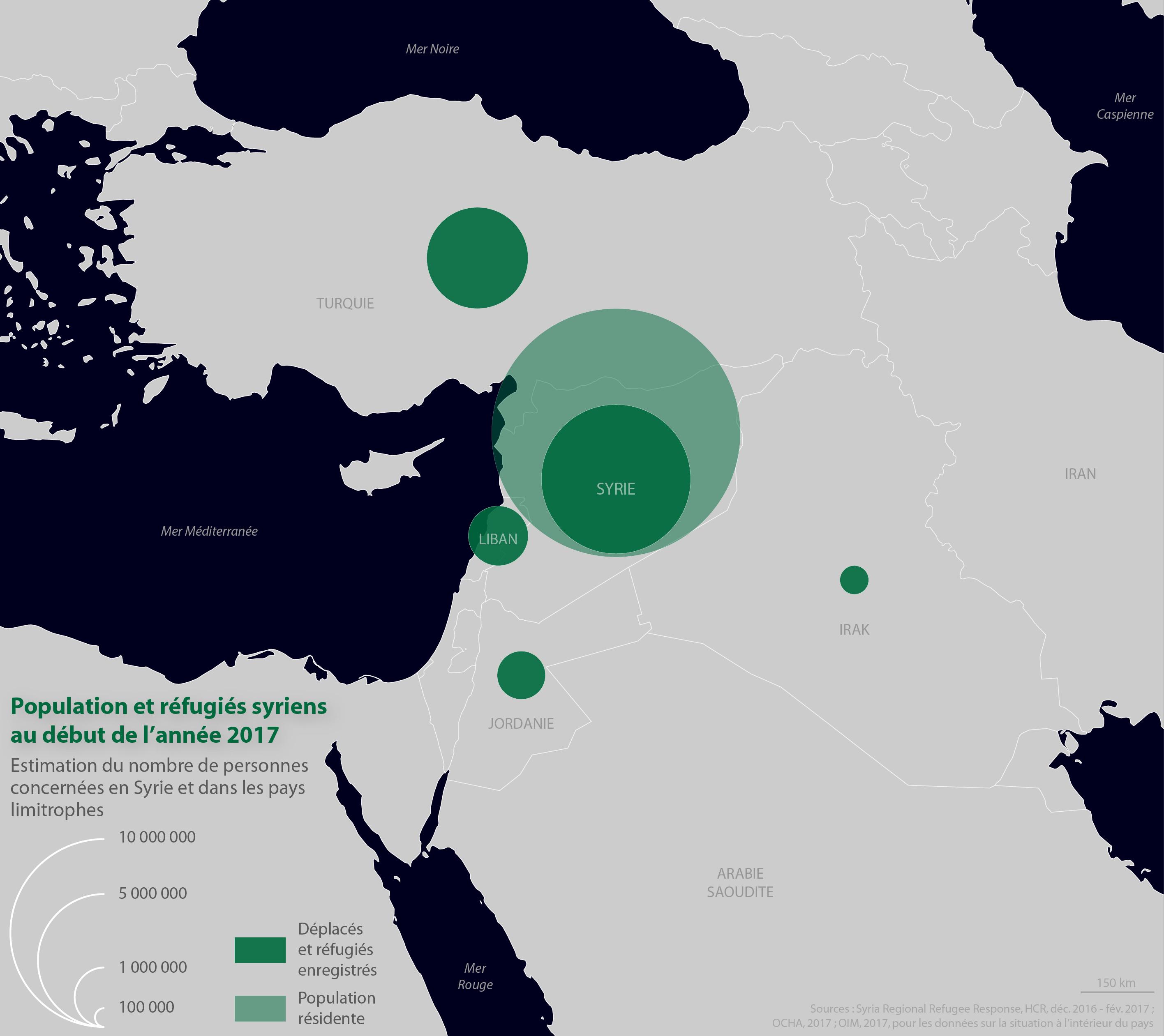 En Syrie, 13,5 millions de personnes ont besoin d'aide humanitaire