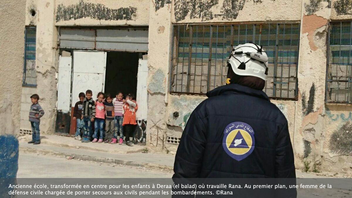 Rana à Deraa : « On vit dans la peur et on mérite notre liberté »