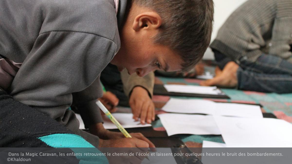 A Idleb, l'éducation des enfants, rempart contre la vulnérabilité
