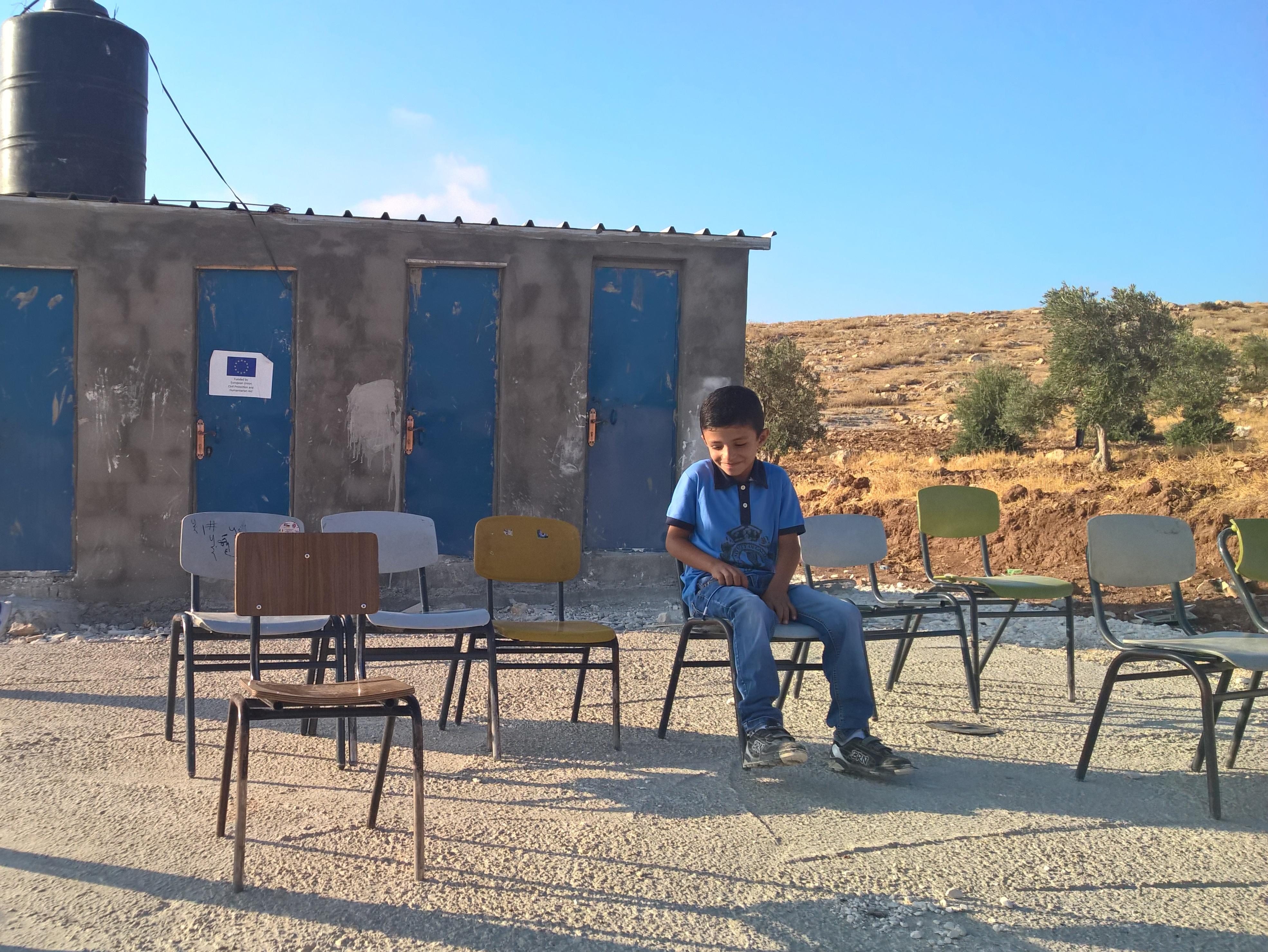 En Cisjordanie, les palestiniens luttent pour garder leurs écoles