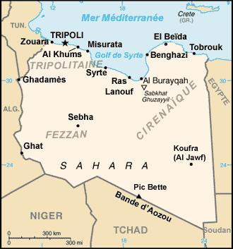 La Libye face à ses divisions