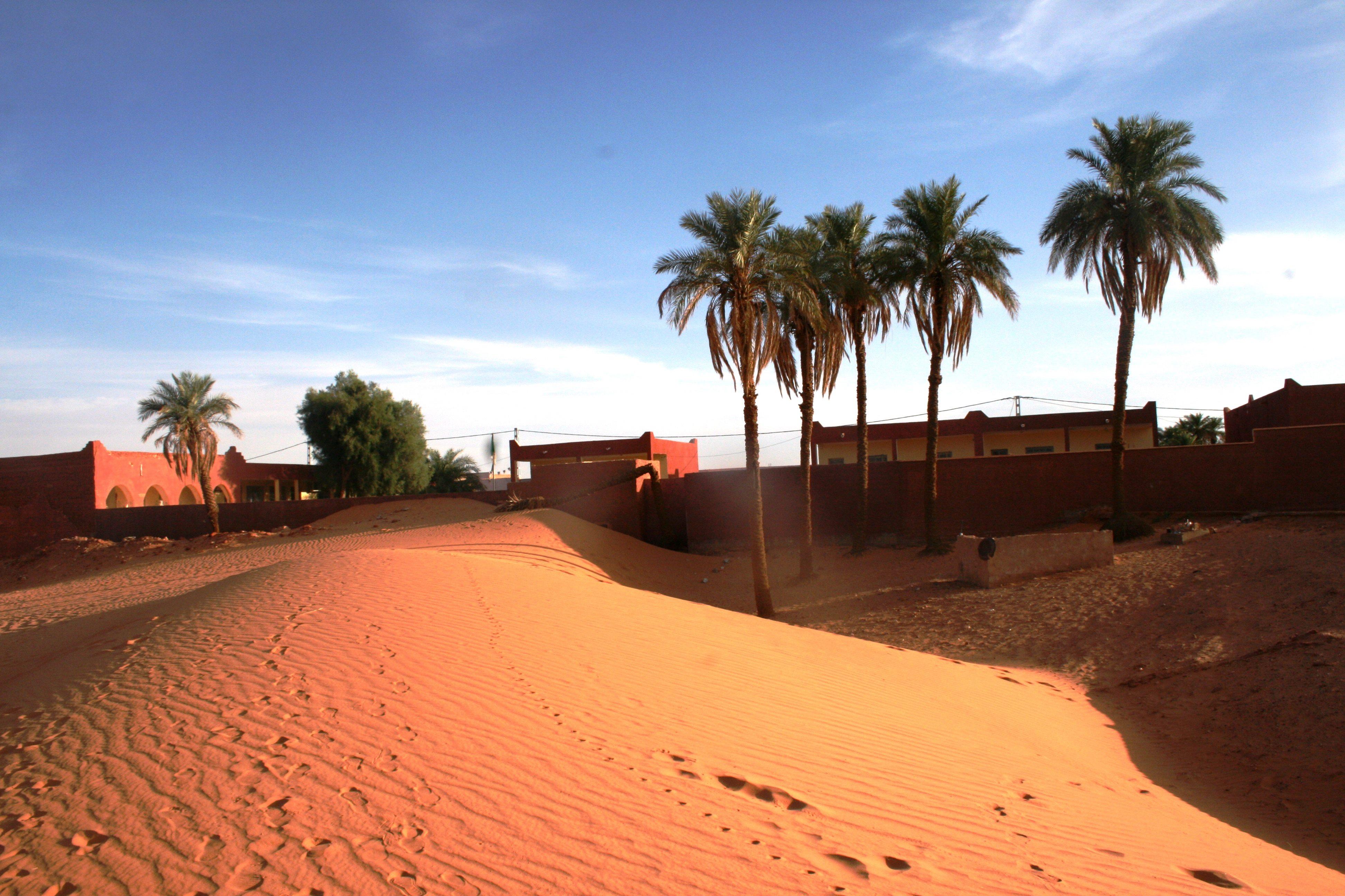 En Algérie, les écoliers des zones sahariennes