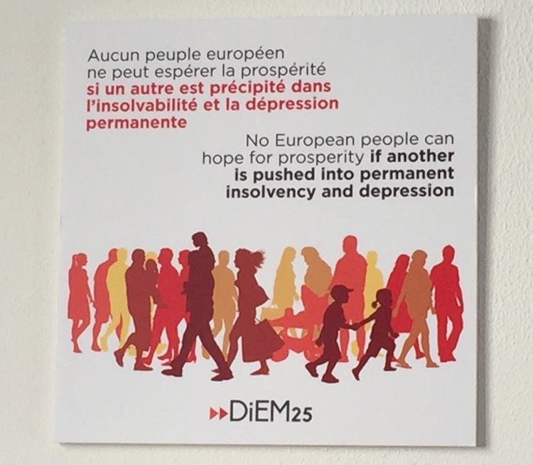En Grèce, «malgré les désillusions le combat continue»