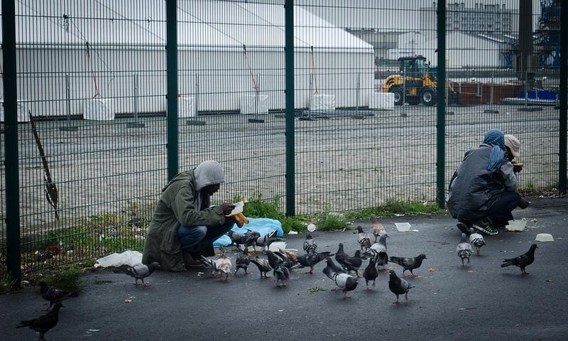 En France, fortes mobilisations pour les droits des migrants