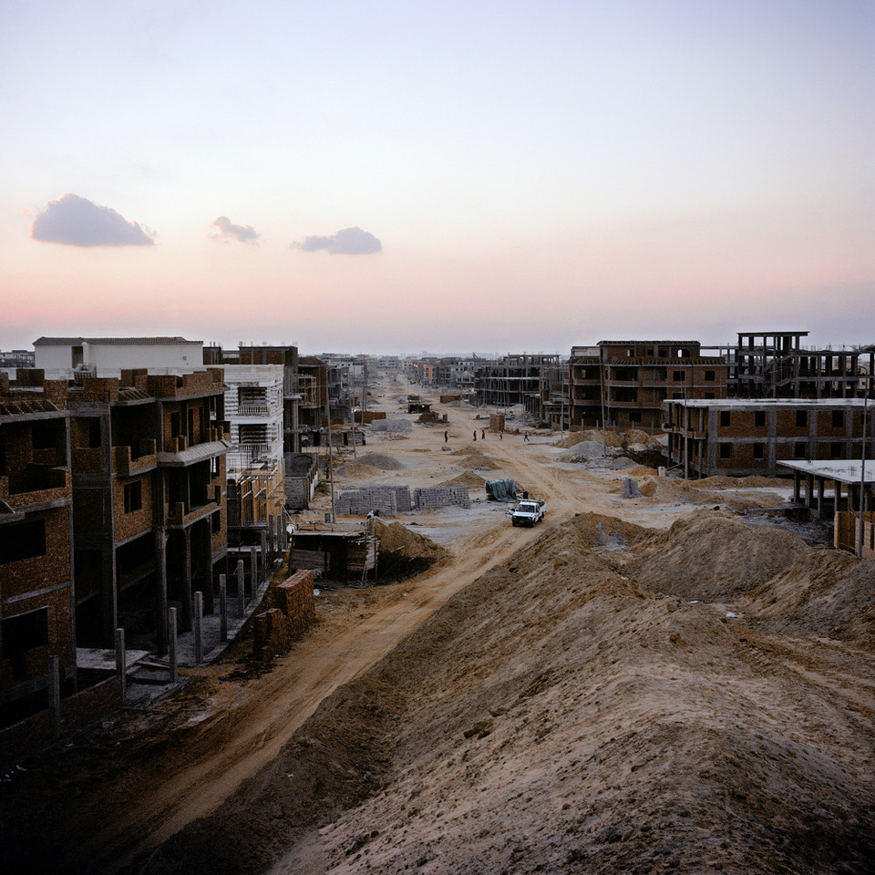 En Égypte, les villes du désert désertées