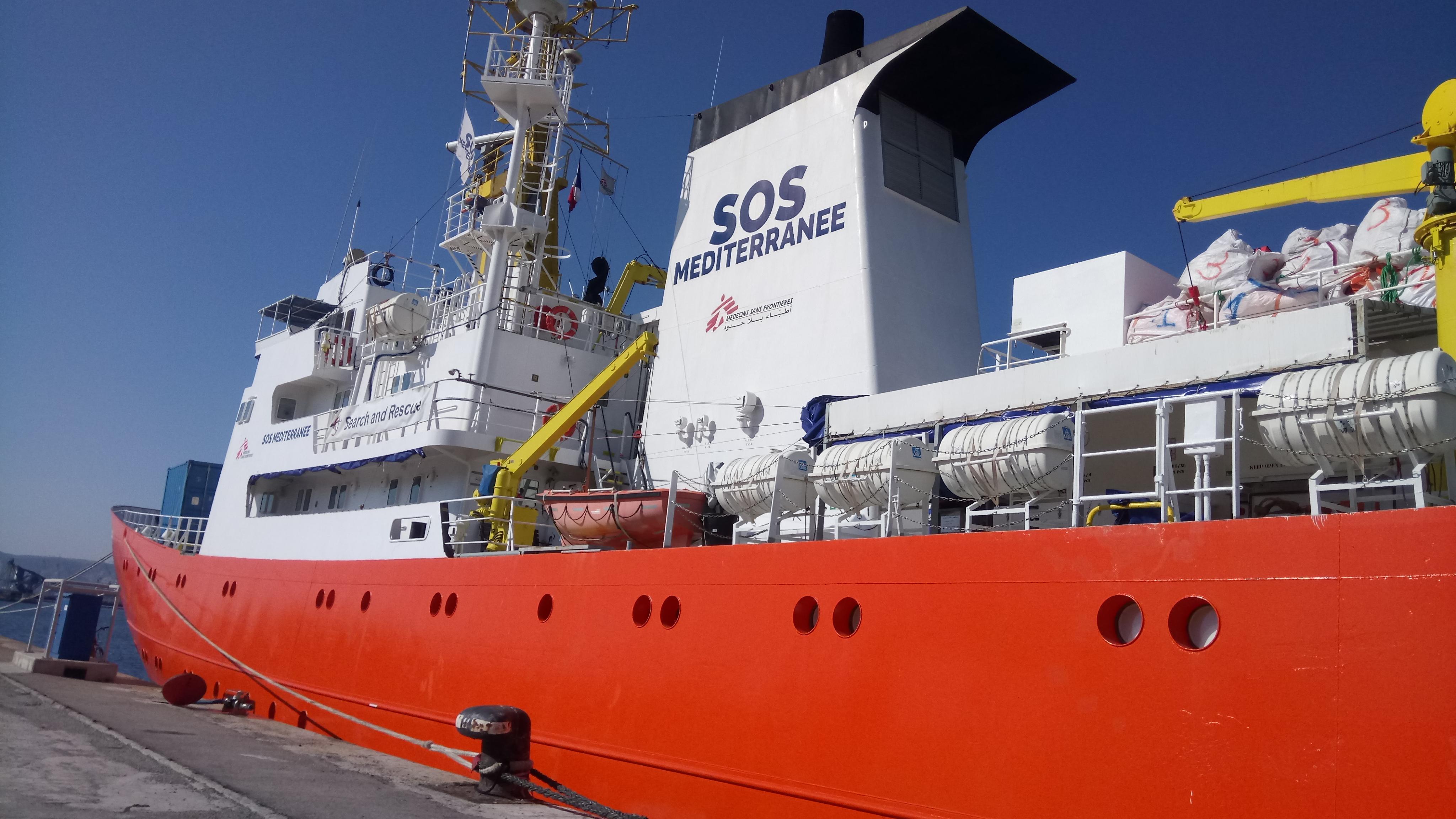 SOS Méditerranée: «un mois long et frustrant»