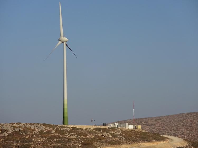 La petite île grecque en route vers l'autonomie énergétique