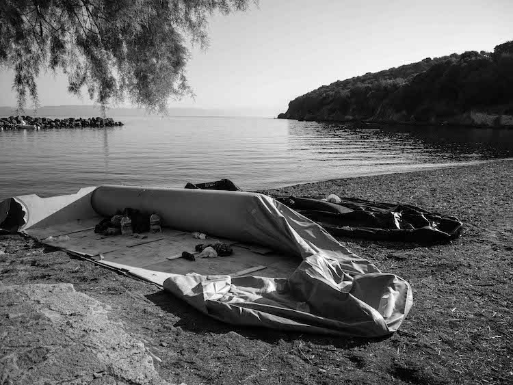 L'île de Lesbos en mutation
