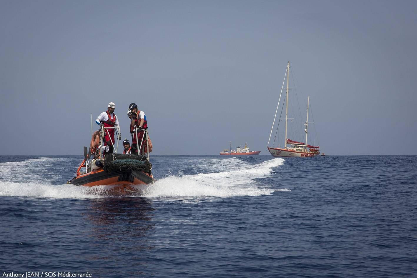 En Méditerranée: non-assistance à personnes en danger