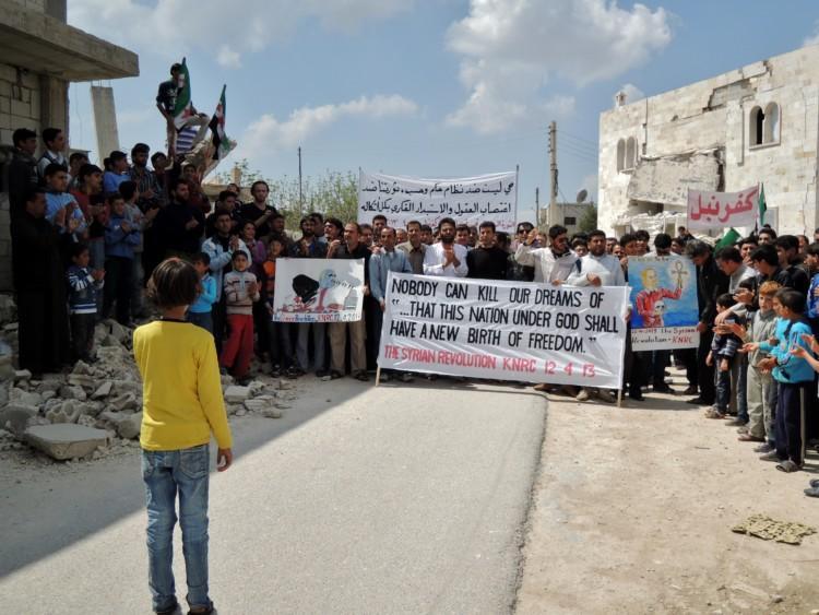 Soulèvement algérien, l'écho syrien