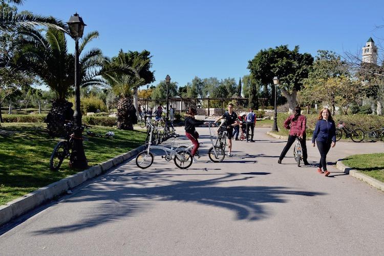 Révolutionner la Tunisie à bicyclette