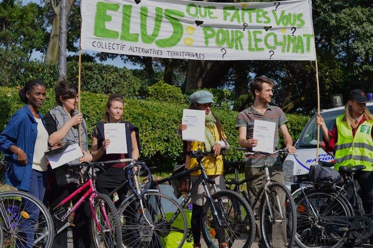 A Marseille, les jeunes d'Alternatiba : «On y vit, on agit»