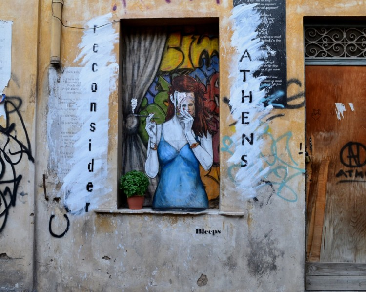 A Athènes, les murs parlent