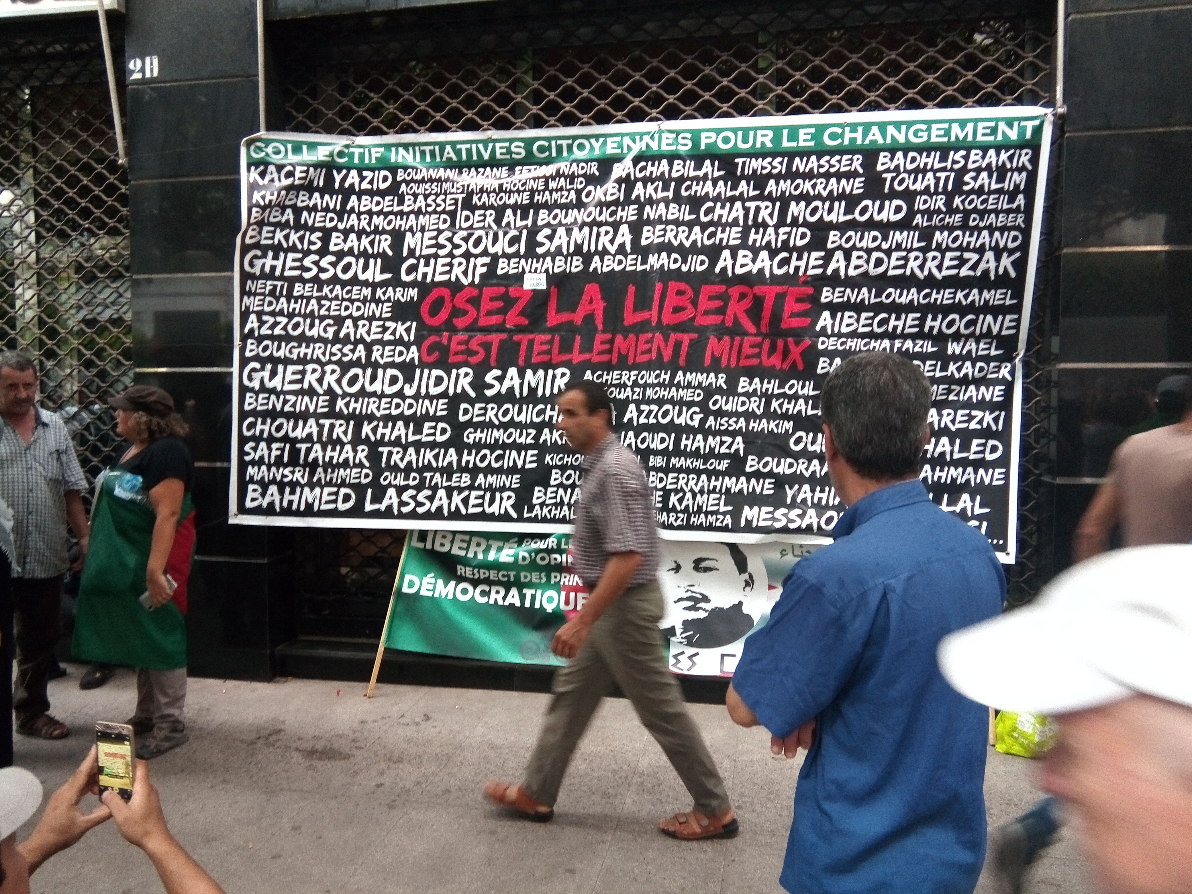 En Algérie, des manifestants emprisonnés depuis des mois