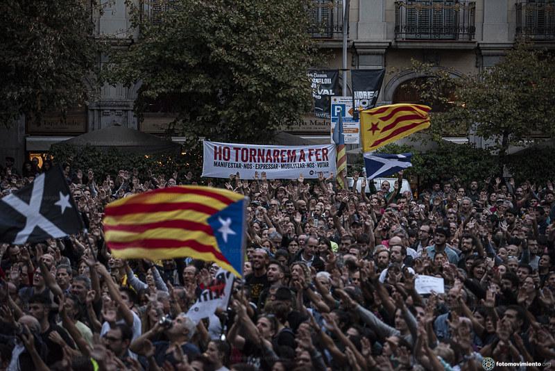 Des murs en Espagne : les fractures politiques de la crise catalane