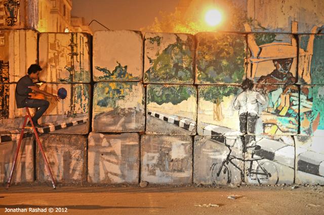 Au Caire, se souvenir des murs de la révolte
