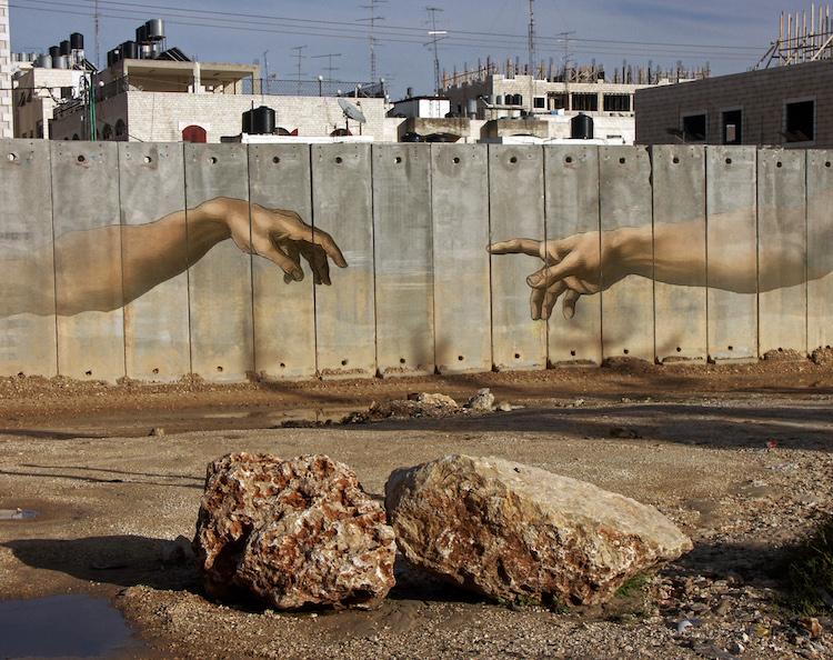 Peindre l'espoir sur le mur qui sépare Israël et la Palestine