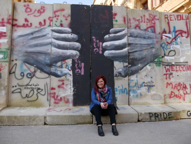 Roula Abdo : «les murs rappellent aux politiques libanais que nous sommes toujours là»