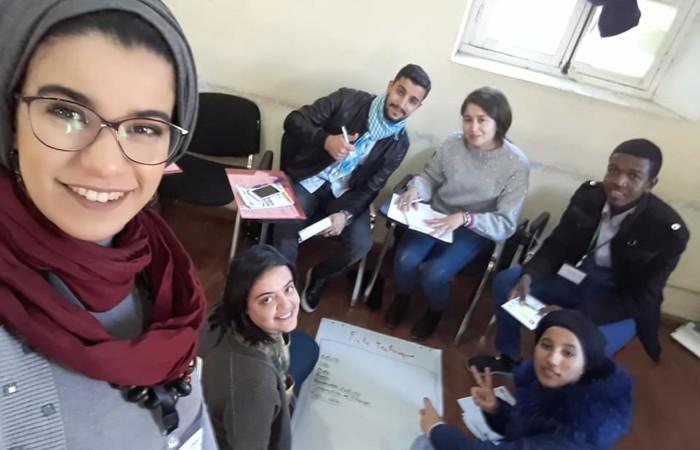 Kawter Nour, membre dela SDH à Oran
