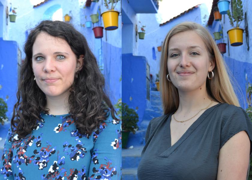 Giulia et Apolline, pour le dialogue inter-culturel