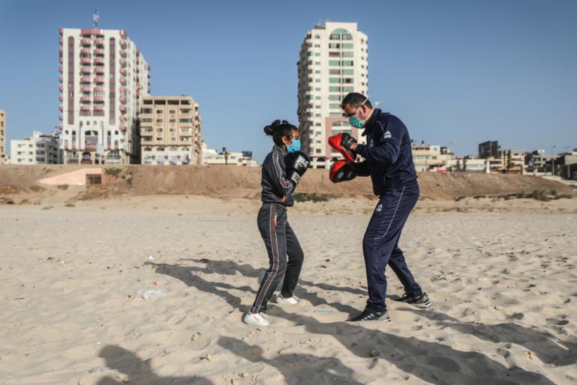 Vivre à l'ère du Coronavirus dans la bande de Gaza