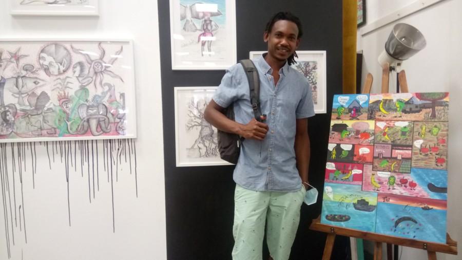 Interview d'Amadou Bah jeune artiste guinéen