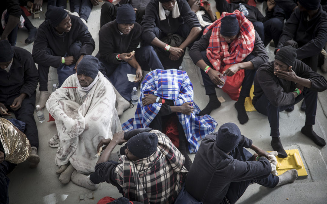LES PASSEURS EN LIBYE