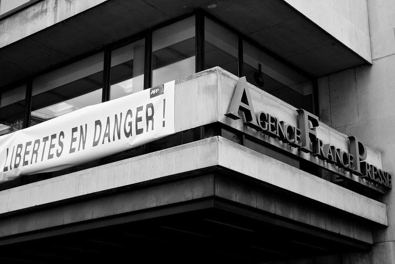 LA LIBERTÉ D'INFORMER EN FRANCE en danger