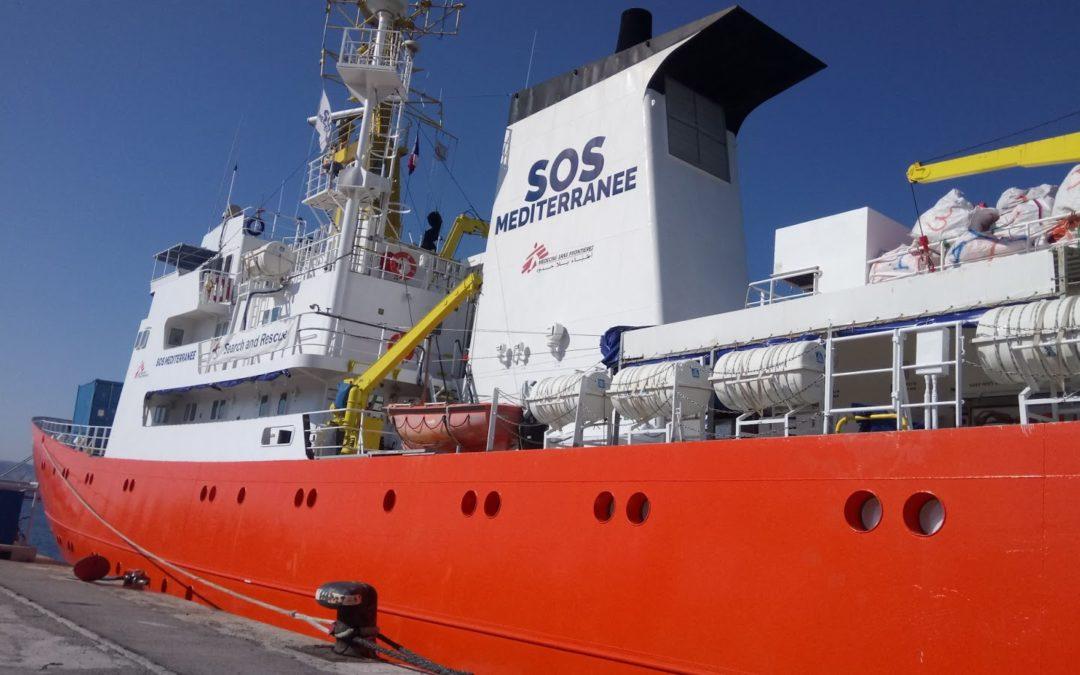 Sauvetage en mer avec l'association SOS Méditerranée